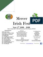 Mercer Irish Fest Flyer[1]