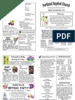 PBC Bulletin - September 2
