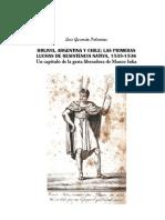 Luis Guzmán Palomino  - Bolivia, Argentina y Chile. Las primeras luchas de resistencia nativa (1535-15~1