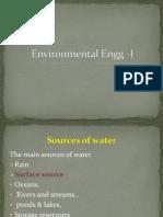 Environmental Engg -I