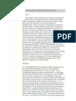 AÇÃO CIVIL PÚBLICA DAVID LOUREIRO