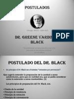 Postulados de Black