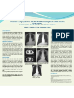 Poster Traumatic Lung Cyst Final