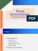 Clasificacion de Rocas Carbonatadas_GMG