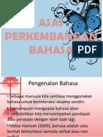 Asas Perkembangan Bahasa
