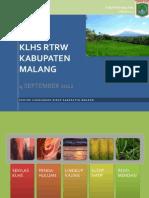 Klhs Rtrw Kab Malang 2012