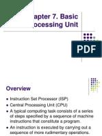 Chapter 7 - Basic Processing Unit