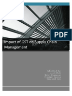 Group Project_Impact of GST on Supply Chain Management