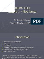 Lecture 1 News News