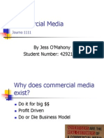 Lecture 5 Commercial Media