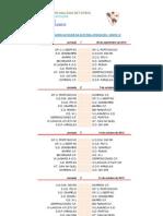 Calendario 3a Autonomica Grupo 16. Libertad Sporting Club