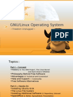 GNU Linux Begginer