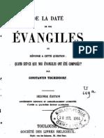 De La Date de Nos Evangiles