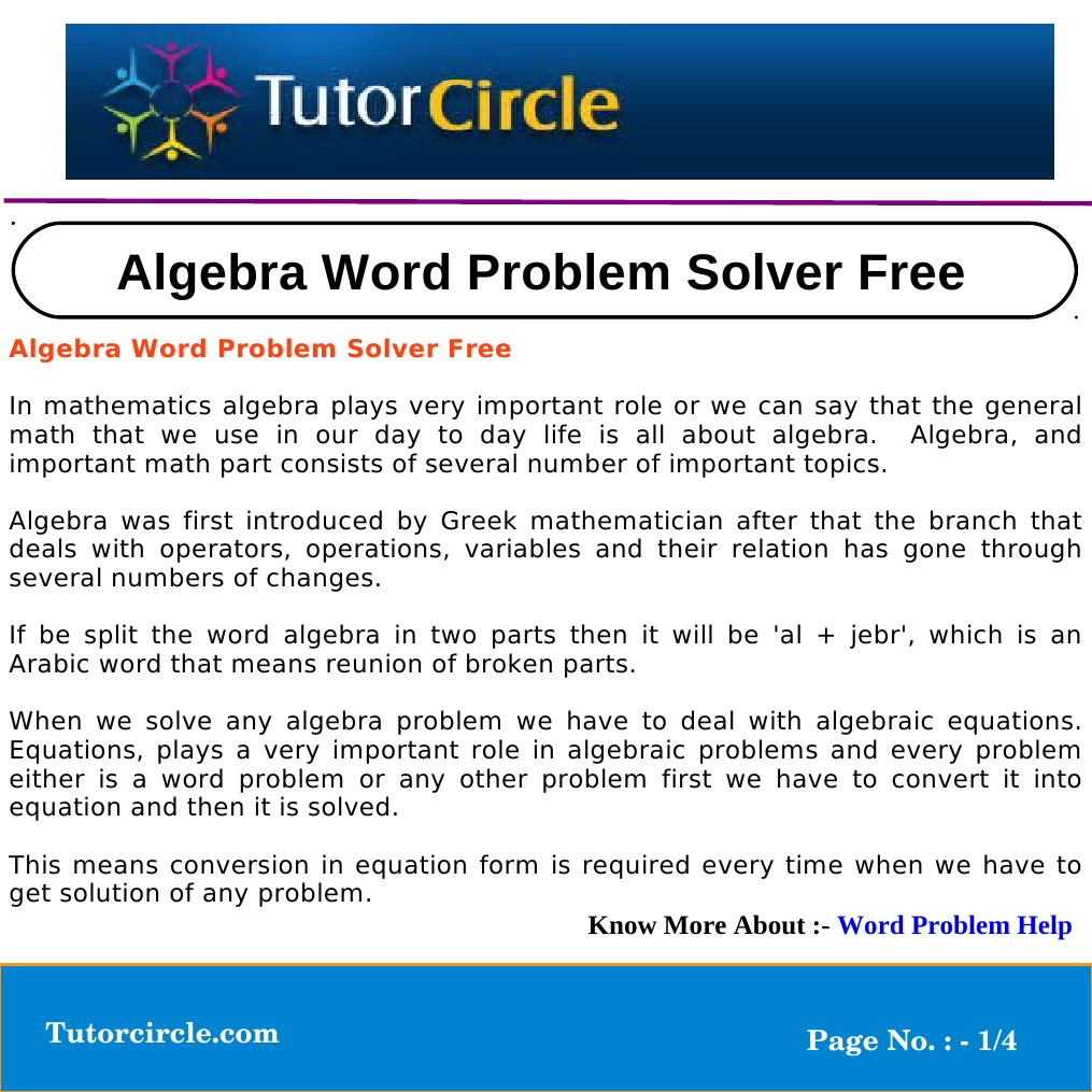 math problem solver algebra 2 Please use this form if you would like to have this math solver on your website, free of charge name:.