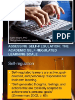 Magno Assessing Self Regulated Learning