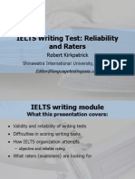 Kirkpatrick IELTS Writing Test
