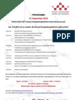 Online-Start der Frauen-Kompetenzplattform www.donne-eu.net
