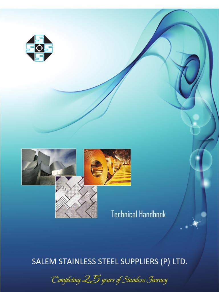 Stainless Steel Technical Handbook | Heat Treating | Pipe (Fluid ...