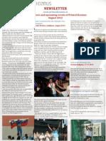 Primož Kozmus, newsletter august 2012