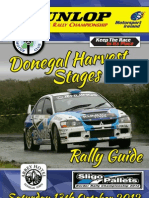 Abbey Hotel Donegal Harvest Stages Rally 2012-Rally Guide