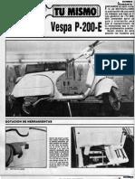 Tu Mismo - Vespa p200e
