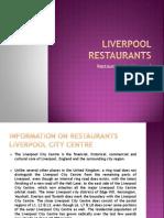 Information on Restaurants Liverpool City Centre