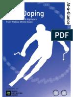 Wada Anti-doping Fisnew a4 Single
