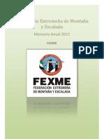 Memoria Anual Fexme 2011