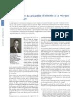 57 L Appreciation Du Prejudice Atteinte a La Marque Et a Son Image La Gazette 17 18 Dec 2010