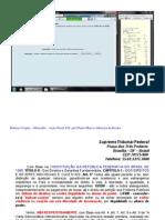 Habeas Corpus do Mensalão - Ação Penal 470 Publicada