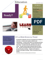 Passion in Education Newsletter