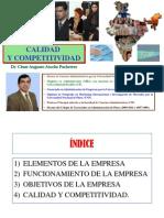 Calidad Competitividad 2011