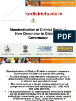 Standardisation of District Portal, Odisha