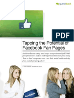 Tapping the Potential of Facebook Fan Pages