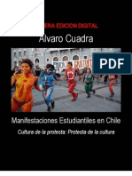 Cuadra Rojas, Á. - Manifestaciones estudiantiles en Chile [2012]