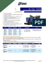 400kw Generador Diesel v400u (Espanol)