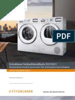 Verkaufshandbuch Extraklasse 2012/2013