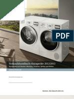 Verkaufshandbuch Hausgeräte 2012/2013