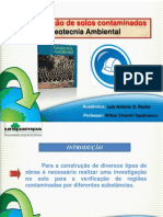 Apresentação_Remediação de solos contaminados_Luiz.Antonio.Oliveira. Rocha_Eng. Civil- UNIPAMPA