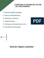 Factores de calidad Nutrición vegetal