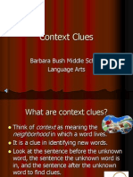 Context Clues Ppt[1]
