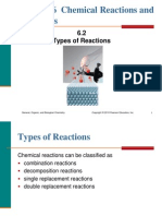 6.2 Types of Reactions