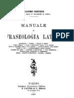 Cortese - Manuale Di Fraseologia Latina
