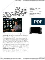 Shock ABC News Romneys 'Happy to Have a Party When Black People