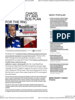 What the Left and George Soros Plan for the RNC