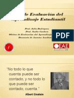Ciclo de Assessment Del Aprendizaje Estudiantil - 2009