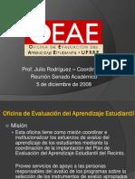 Presentacion - Senado Académico  5 de diciembre de 2008