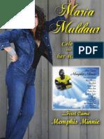 Maria Muldaur - 2012 Poster
