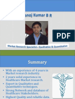 Healthcare Market Research in India