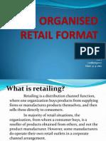 720811631027 Organised Retail Format
